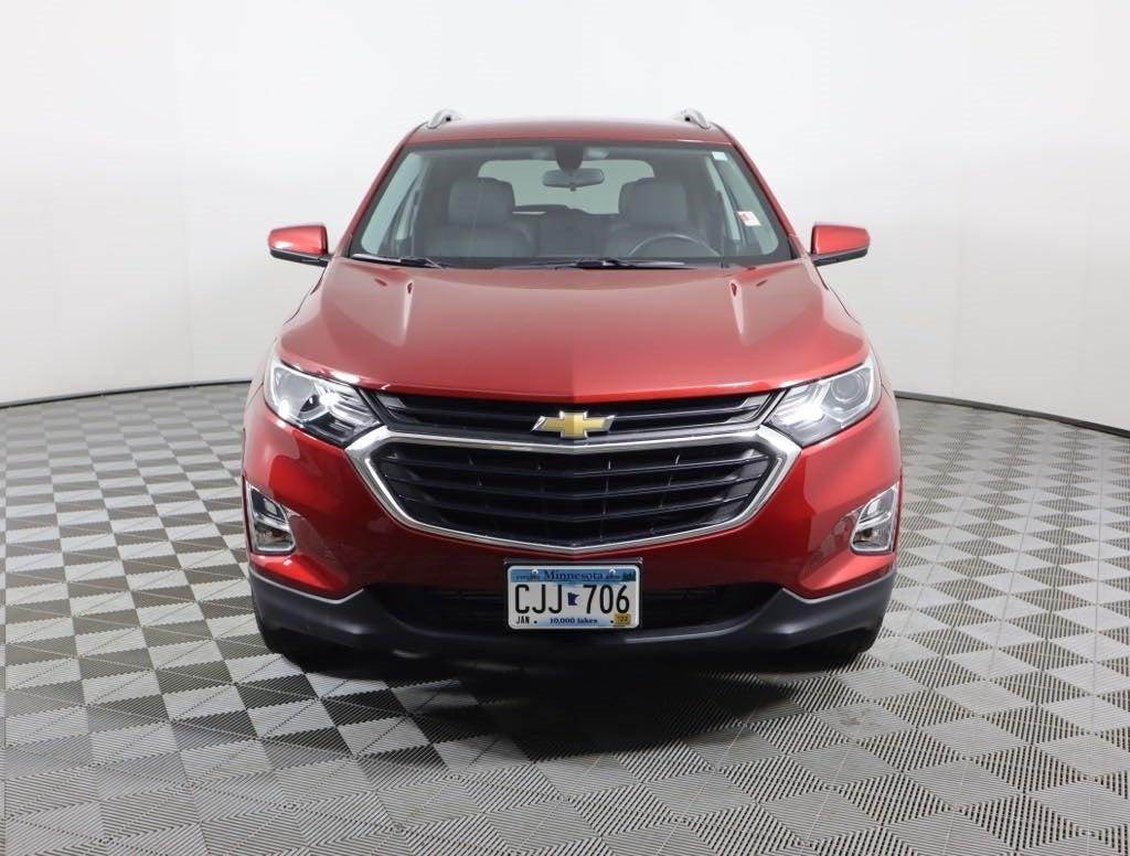 Certified 2019 Chevrolet Equinox LT with VIN 3GNAXVEX8KL198522 for sale in Faribault, Minnesota